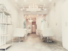 hair+resort valentineの店舗内装写真